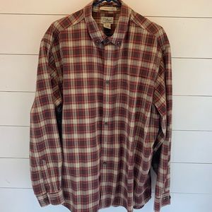 Men's LLBean button down long sleeve.